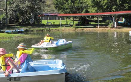 Paddle Boats At EcoPark