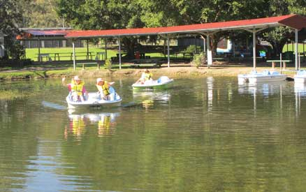 Paddle Boats EcoPark