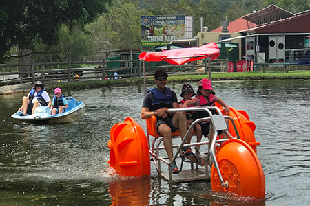 EcoPark Paddle Boats